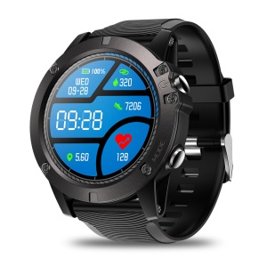 ZEBLAZE VIBE 3 PRO Touch Screen Smart Watch Heart Rate Monitor All-day Tracking Sports Smartwatch - Black