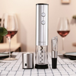 XIAOMI YOUPIN Circle Joy CJ-TZ02 Stainless Steel Electric Bottle Opener [4-in-1 Gift Set]