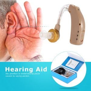 AXON C-108 Volume Adjustable Rechargeable BTE Hearing Aid Sound Amplifier - EU Plug