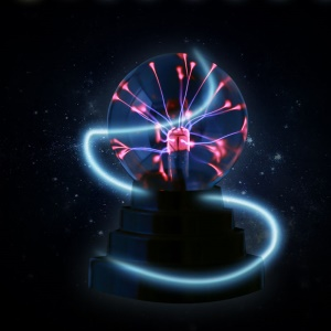 USB Plasma Ball Sphere Magic Crystal Light Night Lamp