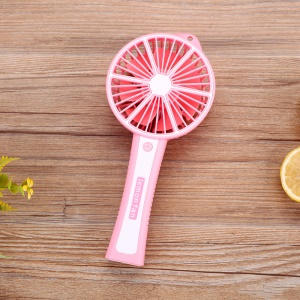 Lemon Shaped Portable Handheld USB Fan Summer Air Circulator Cooling Fan (GXZ-608) - Pink