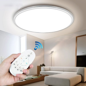 ZigBee Home Automation 2.4G RF Wireless Remote Controller for Smart LED Bulb - White
