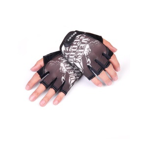 CTSMART 009 Pair of Outdoor Cycling Mountain Climbing Half-finger Sports Gloves - Grey