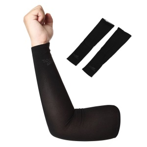 AOTU AT9023 Cycling Sleeves Armwarmers Sleeves Arm Warmer UV Protection - Black