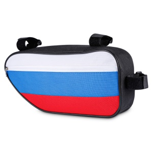 CTSMART Polyester Fabric Bike Front Tube Triangle Bag