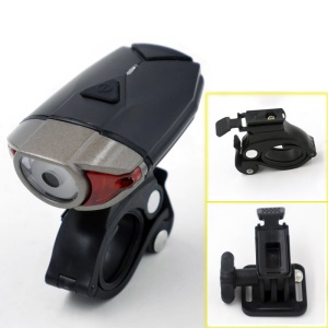 HJ-039 Bike Torch USB Bicycle Lamp LED Front Light Headlight