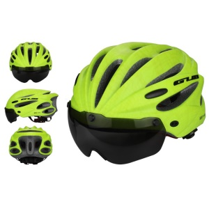 GUB K80 Plus Mountain Road Bicycle Protective Helmet, Head Size: 58-62cm - Green