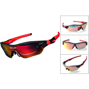 GUB 5300 Polarized Outdoor Sports Glasses Running Riding Bicycle Glasses Cycling Equipment - Red