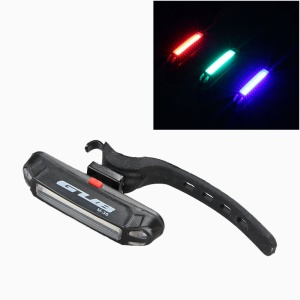 GUB M-38 Bicycle Bike LED Tail Light 3 Colors Warning Lamp USB Rechargeable Rear Light