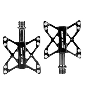 GUB GC009 3 Bearings Aluminum Alloy Pedals Mountain Bike Bicycle Cycling Pedals - Black