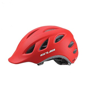 GUB CITY Integrally-molded Bike Helmet Protector, Head circumference: 57-60cm - Red