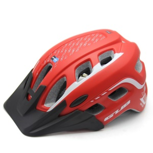GUB XX6 Ultralight Integrally-molded Mountain Road Bicycle Helmet Cycling Helmet 55-61cm - Red