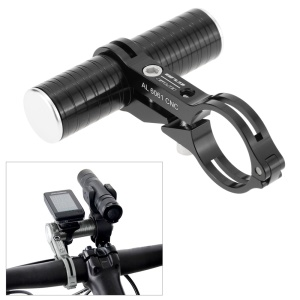 GUB 328 CNC AL6061 Bicycle Handlebar Extender Mount Lamp Holder + Tube - Black