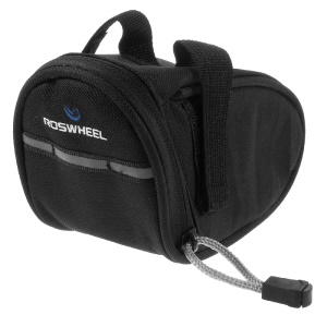 ROSWHEEL Bicycle Saddle Bag Tail Bag (13567) - Black