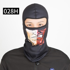 Outdoor Sports Skiing Balaclava Mask Dust-proof Wind-proof Anti-fog UV Protection Face Mask - 028H