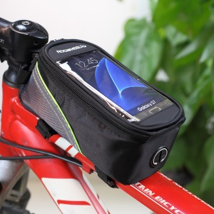 ROSWHEEL 4.8inch Bicycle Top Tube Bag for iPhone 6 6s (12496M-C5) - Black5