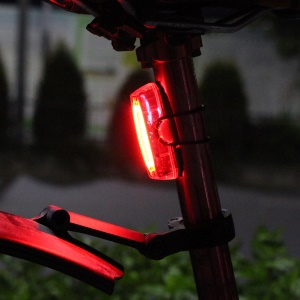 GUB M-59 Waterproof Bicycle Intelligent Sensor Tail Light USB Rechargeable