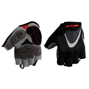 GUB FS1093 Half Finger Cycling Gloves Thickening Silicone Riding Gloves - Size: L / Black