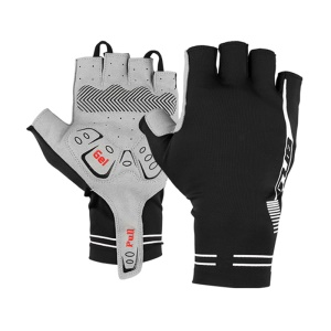 GUB Breaking Wind Cycling Gloves Half Finger Anti-slip Bicycle Glove - Size: S / Black