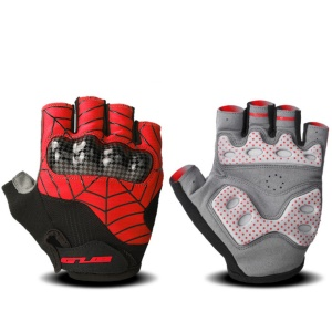 GUB S038 Outdoor Cycling Gloves Breathable Anti-Collision S Size (Palm Width: 7-7.5cm) - Red