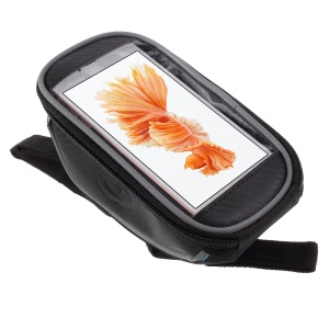 ROSWHEEL Bicycle Handlebar Touchable Phone Bag for iPhone 6s Plus, Size: 17 x 8.5cm 11810