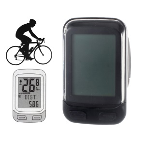 CTSMART 22 Functions 1.7-Inch Screen Wireless Bicycle Cycle Computer - Black