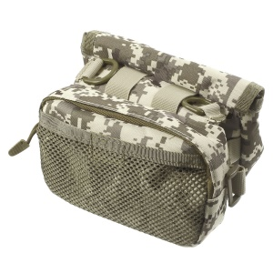 Military MOLLE Bike Bicycle Frame Front Tube Bag Messenger Bag - ACU Camo