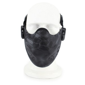 Outdoor Tactical CS Sports Face Mask Half Face Mask - Typhon