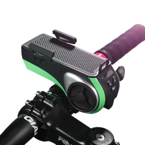 Multi-function Bike Bluetooth Speaker with Power Bank + Bike Light + Phone Holder