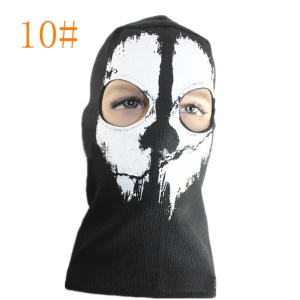 Cool Skull Outdoor Face Mask for Cycling Hunting - Model 10
