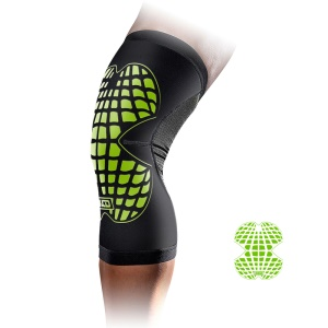 MLD Breathable Cycling Nylon Knee Pads Summer Sport Knee Protector - Green / S