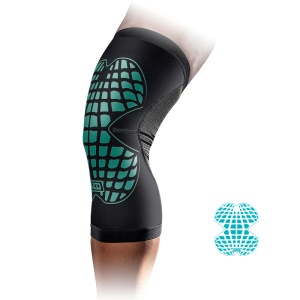 MLD Breathable Outdoor Sport Nylon Knee Caps Summer Cycling Knee Protector - Blue / S