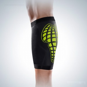 MLD Breathable Crus Protector Outdoor Sports Calf Support - Green / M