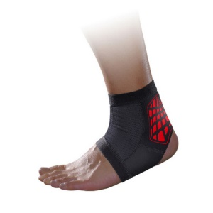 MLD Lightweight Running Sports Ankle Guard - Red / L