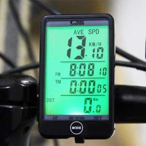 SUNDING 576A Odometer Speedometer Bicycle Computer Touch Screen Backlight