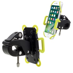 VORSON Universal Bicycle Bike Phone Mount Holder for iPhone Samsung etc, Clamp: 40 - 95mm - Green