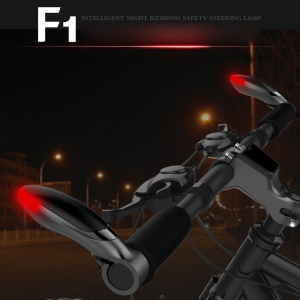 Bicycle Handlebar Turn Signal Light Indicator Light IPX6 Waterproof Bike Safety Warning LED Light