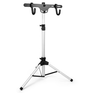 CTSMART Telescopic Bike Stand Portable Placing Shelf Bracket Bicycle Mounts