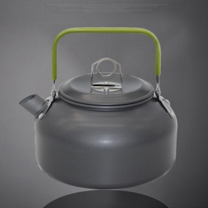 HALIN 0.8L Outdoor Camping Hiking Picnic Aluminum Teapot