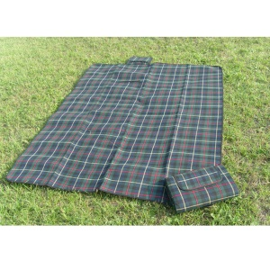 Outdoor Portable Cushion Waterproof Picnic Mat Pad, Size: 200 x 150cm - Grey