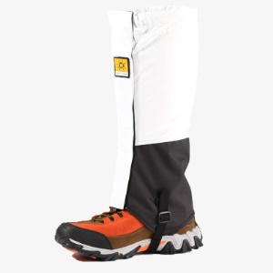 Waterproof Boot Gaiters Breathable Nylon Snow Sand Gaiters - White
