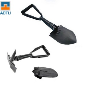 AOTU AT7571 Multi-functional Outdoor Folding Shovel Engineer Shovel for Camping Hiking
