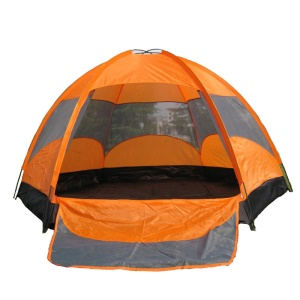 AOTU 8206 Dual-layer Hexangular Waterproof Tent Camping Backpacking Tent