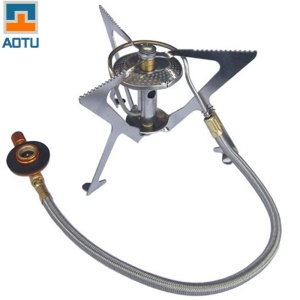 AOTU AT105 Foldable Split Gas Stove Cookware for Picnic Hiking Camping