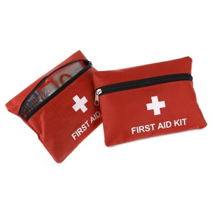 2Pcs/Set 13-in-1 Medical Emergency Bag First Aid Kit Pack Travel Survival Treatment Rescue Pouch