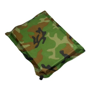 Camouflage Pattern Portable Camping Travel Seat Pad Inflatable Cushion, Size: 31 x 40 x 3cm - Style A