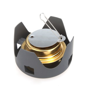 Outdoor Hiking Camping Portable Spirit Burner Alcohol Stove Furnace
