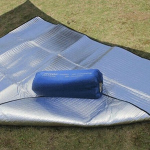 Waterproof Dampproof Mat Pad Double Side Aluminum Film for Camping Picnic, Size: 200 x 200cm