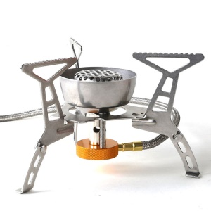 Outdoor Camping Stove Portable Collapsible Windproof Furnace