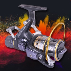 3000 Series Spinning Reel Saltwater Freshwater Fishing 5.1:1 9+1 Bearings Aluminum Handle CNC Spool Front Rear Drag Left Right Hand